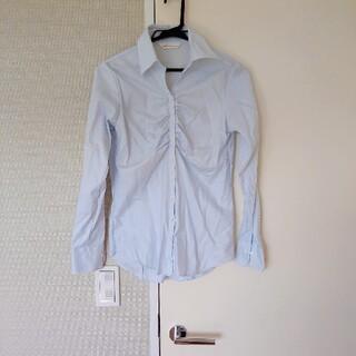 アオキ(AOKI)のブラウス ☆ブルー(シャツ/ブラウス(長袖/七分))