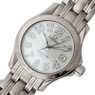 オメガ(OMEGA)のオメガ OMEGA シーマスター120m 腕時計 レディース【中古】(腕時計)