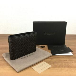 ボッテガヴェネタ(Bottega Veneta)の未使用品 ボッテガヴェネタ 財布 イントレチャート カーフスキン 336(折り財布)