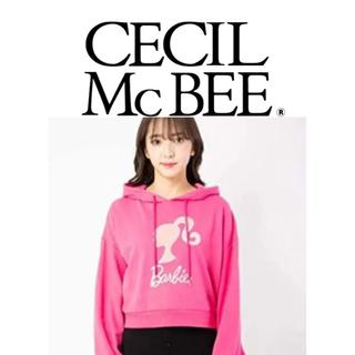 バービー(Barbie)のセシルマクビー(CECIL McBEE)セシルマクビー(バービーコラボパーカー)(パーカー)