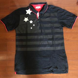 トミー(TOMMY)の古着 TOMMY ポロシャツ◇XLサイズ◇黒色◇M-0191(ポロシャツ)