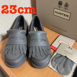 HUNTER - HNUTER REFINED FRINGE PENNY LOAFER