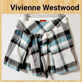 ヴィヴィアンウエストウッド(Vivienne Westwood)のVivienne Westwood ヴィヴィアンウエストウッド ミニスカート(ミニスカート)