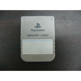 プレイステーション(PlayStation)のSONY SCPH-1020 PlayStation用メモリーカード グレー(その他)