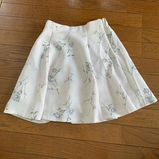 マジェスティックレゴン(MAJESTIC LEGON)のマジェ 花柄レースアップスカート(ミニスカート)