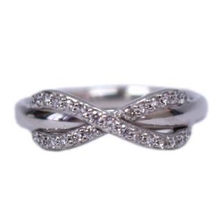 Tiffany & Co. - TIFFANY&Co. インフィニティ  リング・指輪 K18WG