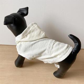 ジルスチュアート(JILLSTUART)のレースパーカー 犬服 ドッグウェア(ペット服/アクセサリー)