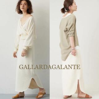 ガリャルダガランテ(GALLARDA GALANTE)のGALLARDA GALANTE/ サーマル ロング スカート(ロングスカート)
