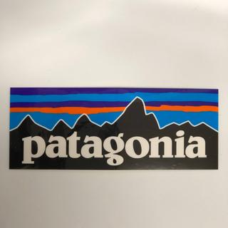 パタゴニア(patagonia)のパタゴニア ステッカー長方形(登山用品)