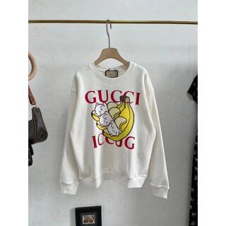 グッチ(Gucci)のGucci Bananya プリント スウェットシャツ(トレーナー/スウェット)
