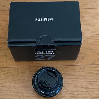 フジフイルム(富士フイルム)の富士フイルム XF27mm  F2.8(レンズ(単焦点))