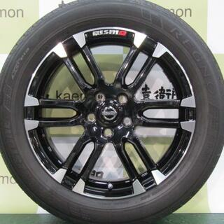 ニッサン(日産)の日産 E52系 エルグランド NISMOパッケージ純正 LMX6S 4本セット(タイヤ・ホイールセット)