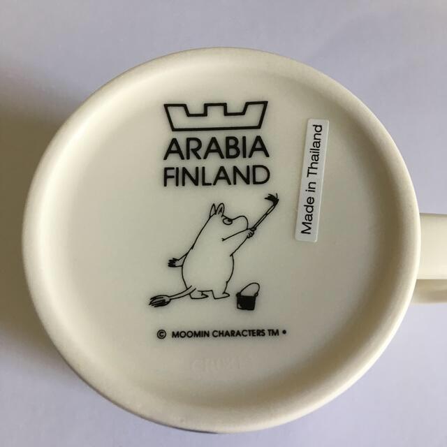 ARABIA(アラビア)のアラビアムーミンマグカップ アドベンチャー インテリア/住まい/日用品のキッチン/食器(グラス/カップ)の商品写真