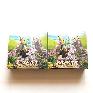 ポケモン(ポケモン)の【新品】 ポケモンカードゲーム イーブイヒーローズ 2BOX 60パック(Box/デッキ/パック)