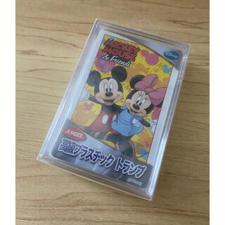 ディズニー(Disney)のミッキーマウス&フレンズ 高級プラスチックトランプ(トランプ/UNO)