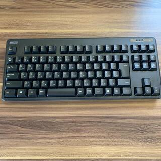 ELECOM - エレコム ワイヤレスキーボード (レシーバー付属)  TK-FDM105TXBK