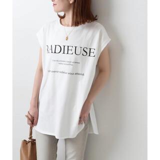 新品タグ付き★スピックアンドスパン RADIEUSE フレンチT(Tシャツ(半袖/袖なし))