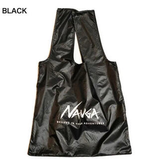 NANGA★ナンガ エコバッグ ブラック(エコバッグ)