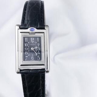 カルティエ(Cartier)の【仕上済】カルティエ タンク バスキュラント アラビア レディース 腕時計(腕時計)