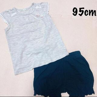 ニシマツヤ(西松屋)の西松屋:Tシャツ・ショートパンツ コーデセット まとめ売り(その他)