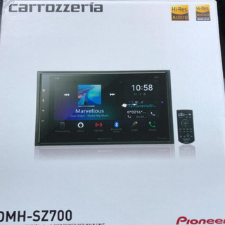 パイオニア カーオーディオ カロッツェリア DMH-SZ700 6.8型(カーオーディオ)