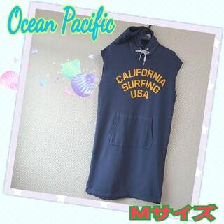 オーシャンパシフィック(OCEAN PACIFIC)の☆ Ocean Pacific 袖無しロングワンピース(ロングワンピース/マキシワンピース)