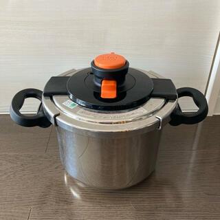 ティファール(T-fal)のティファール圧力鍋 6リットル(鍋/フライパン)