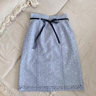 アストリアオディール(ASTORIA ODIER)のASTORIA*総レースタイトスカート(ひざ丈スカート)