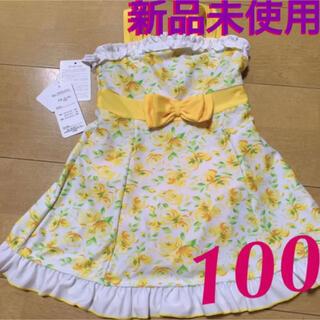ニシマツヤ(西松屋)の新品未使用❤︎タグあり キッズ 100サイズ 水着 ワンピース タイプ(水着)