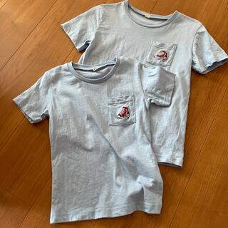 ニシマツヤ(西松屋)のお揃いTシャツセット(Tシャツ/カットソー)