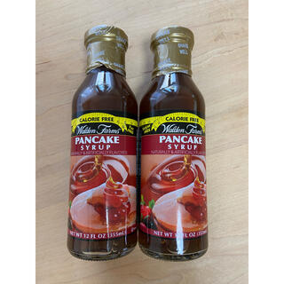 Walden Farms★パンケーキシロップ 2本 糖質ゼロ(ダイエット食品)