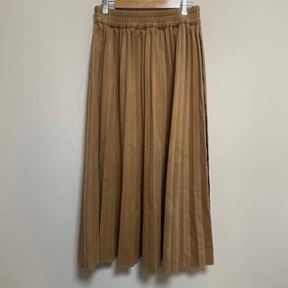オリーブデオリーブ(OLIVEdesOLIVE)のプリーツスカート(ロングスカート)