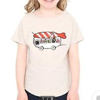 Design Tshirts Store graniph - グラニフ 120 おすし 半袖 スウェット キッズ Tシャツ