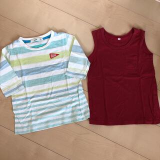 ムジルシリョウヒン(MUJI (無印良品))のTシャツ 120(Tシャツ/カットソー)