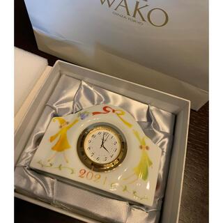 ワコウドウ(和光堂)のWAKO クロック 陶器(置時計)