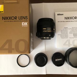 Nikon - 美品ニコンAF-S DX Micro 40mm f2.8G