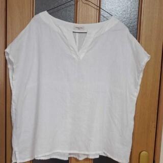 サマンサモスモス(SM2)のサマンサモスモス・リネントップス(Tシャツ(半袖/袖なし))