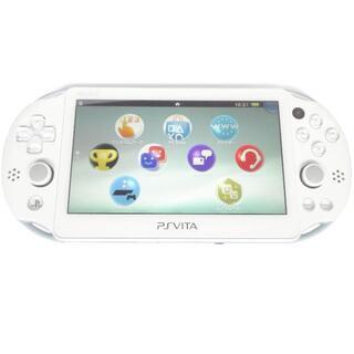 プレイステーションヴィータ(PlayStation Vita)の【良品】ライトブルーホワイト PlayStation®Vita PCH 2000(携帯用ゲーム機本体)