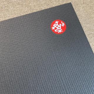 manduka PRO トラベル ヨガマット ブラック (ヨガ)