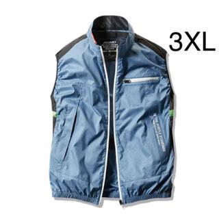 BURTLE - 新品 バートル 空調服 ベスト 3XL  服のみ AC1034 ライトインディゴ