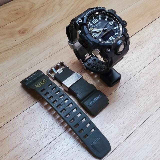 G-SHOCK(ジーショック)の本日削除!美品G-SHOCKマッドマスターGWG-1000新品バンド メンズの時計(腕時計(アナログ))の商品写真