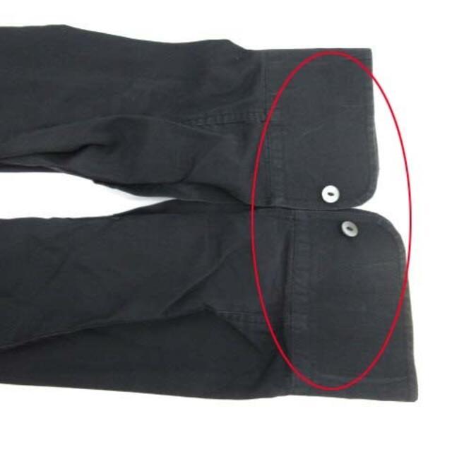 DOLCE&GABBANA(ドルチェアンドガッバーナ)のドルチェ&ガッバーナ ドルガバ ドレスシャツ ワイシャツ イタリア製 M 黒 メンズのトップス(シャツ)の商品写真