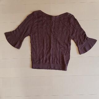 エニィスィス(anySiS)のany sis トップス5分袖(Tシャツ(半袖/袖なし))