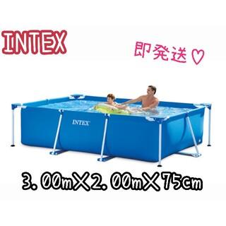 コストコ(コストコ)のカバー付き INTEX  300 プール 即完売(その他)