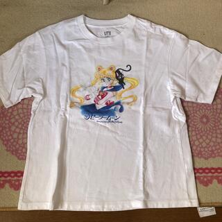 セーラームーン(セーラームーン)のUNIQLO  セーラームーンTシャツ (試着のみ)(Tシャツ(半袖/袖なし))
