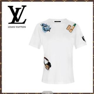 ルイヴィトン(LOUIS VUITTON)の【LOUISVUITTON】ルイヴィトンエンブロイダリーワッペンTシャツ(Tシャツ(半袖/袖なし))