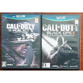 Wii U - 【美品】wiiu コール オブ デューティゴースト、ブラックオプス II セット