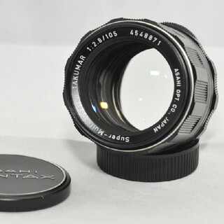 ペンタックス(PENTAX)のペンタックス Super-Multi-Coated 105mm F2.8 M42(レンズ(単焦点))