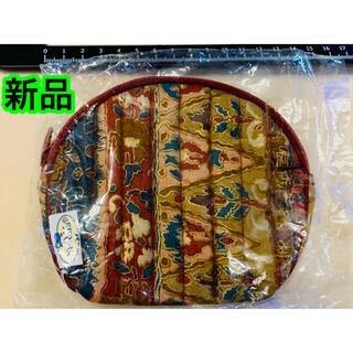 ナラヤ(NaRaYa)の【新品】NaRaYa タイ製 ポーチ えんじ色系(ポーチ)