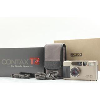 ★箱付き美品★ CONTAX T2 コンタックス Carl Sonner カメラ